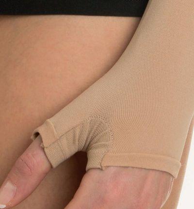 Рукав компресійний з рукавичкою на текстильній застібці (липучці) Relaxsan