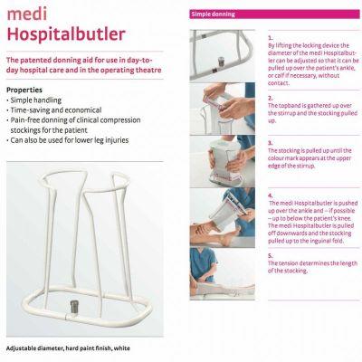 Приспособление для одевания компрессионного трикотажа medi Butler Hospital