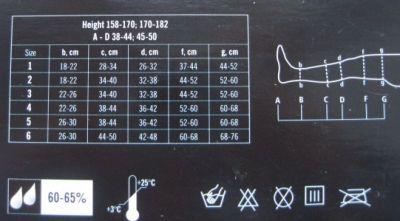 Компрессионный чулок Tonus Elast 2 класса