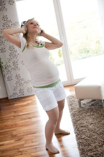 Колготки компрессионные для беременных Mediven Duomed basic 2 класса