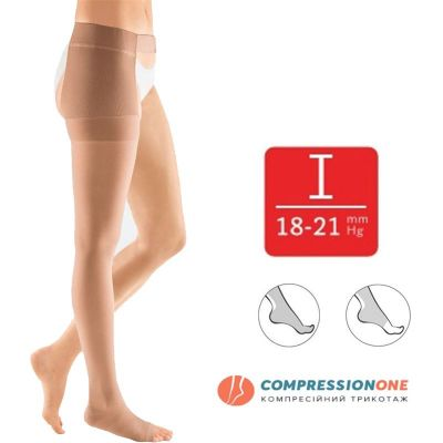 Панчоха компресійна на праву ногу Mediven Plus 1 класу