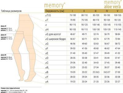 Колготки компресійні Ofa Bamberg Memory 1 клас