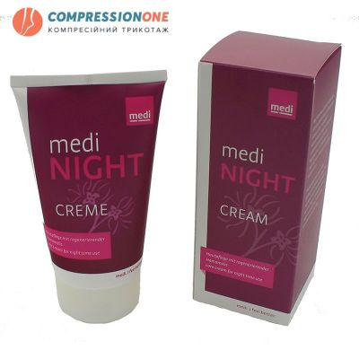 medi night крем для регенерації шкіри ніг 50 мл